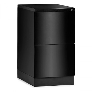 Bend arkivskap-2 skuffer, BxDxH = 390x570x720 mm-Svart