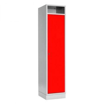 Skittentøyskap-Rød, RAL 3020