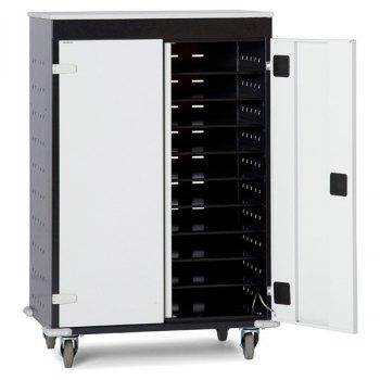 PC- og laptopvogn, inkl. strømuttak-20 rom, BxDxH = 920x500x1250 mm