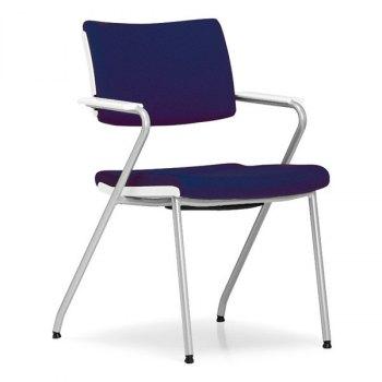 Colour konferansestol-Blå-Alugrå