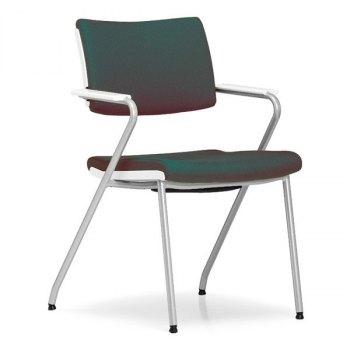 Colour konferansestol-Blågrønn-Krom