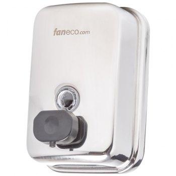Faneco Duo 0,5 liter såpedispenser i rustfritt stål