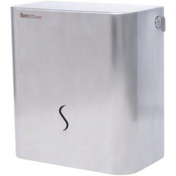 Luna toalettpapir dispenser i rustfritt stål